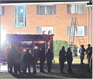 No injuries as fire strikes another CC apartment
