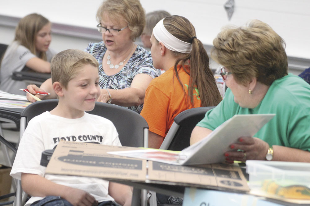 Talk of the town: 4-H projects showcased at Floyd County Fair