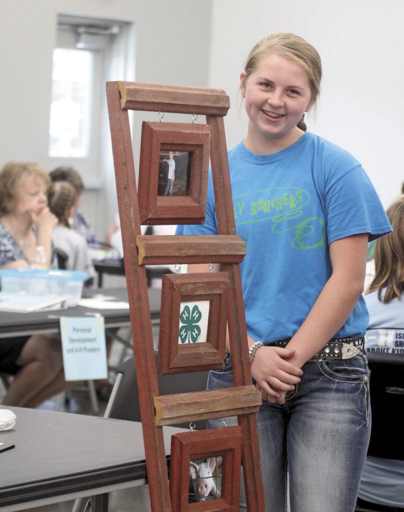 Talk of the town: 4-H projects showcased at Floyd County