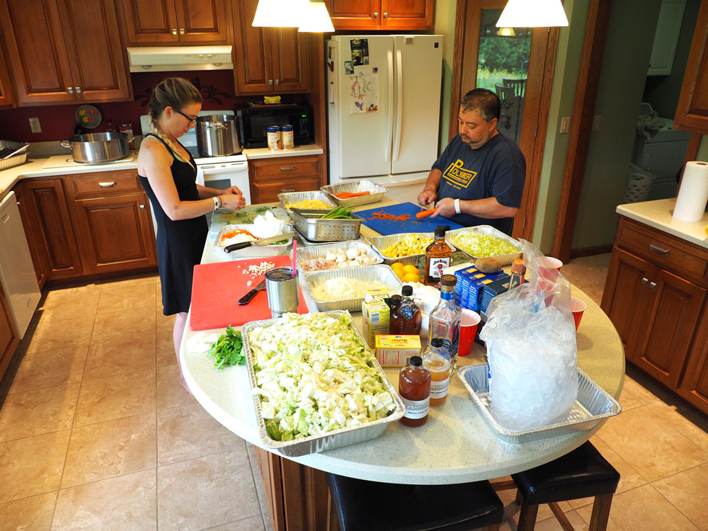 Team Gourmet goes all in for RAGBRAI meals