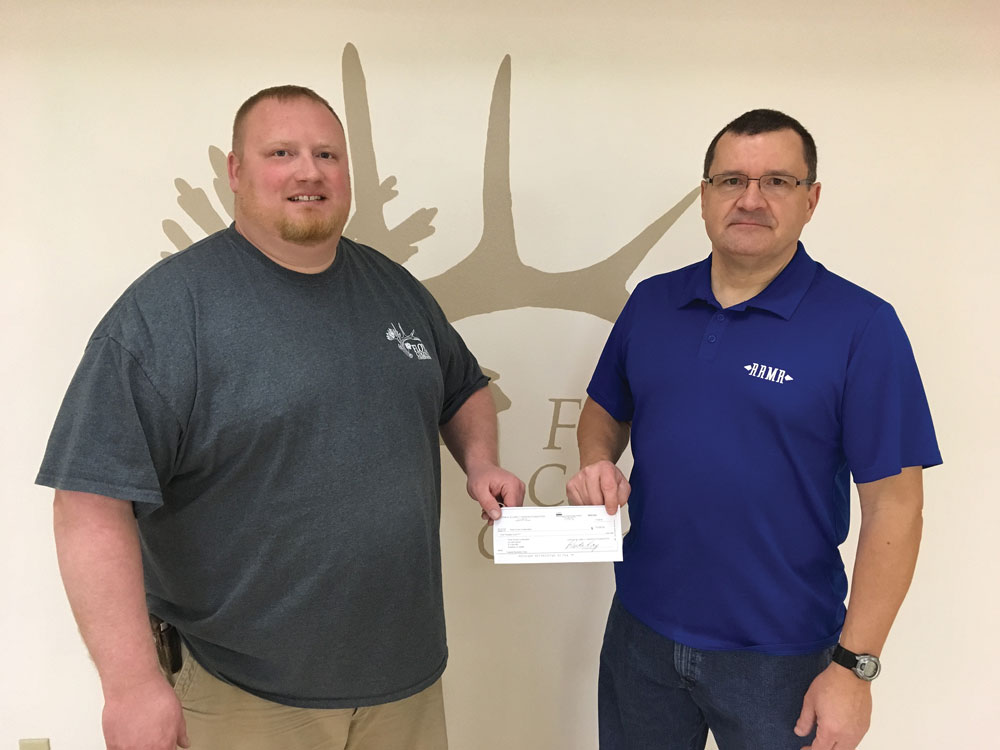 $17K  donated to Tosanak cabin fund