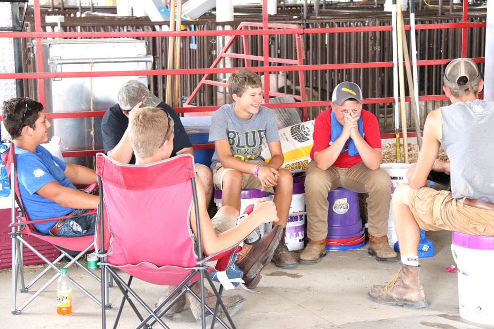 Fair brings county together through competition