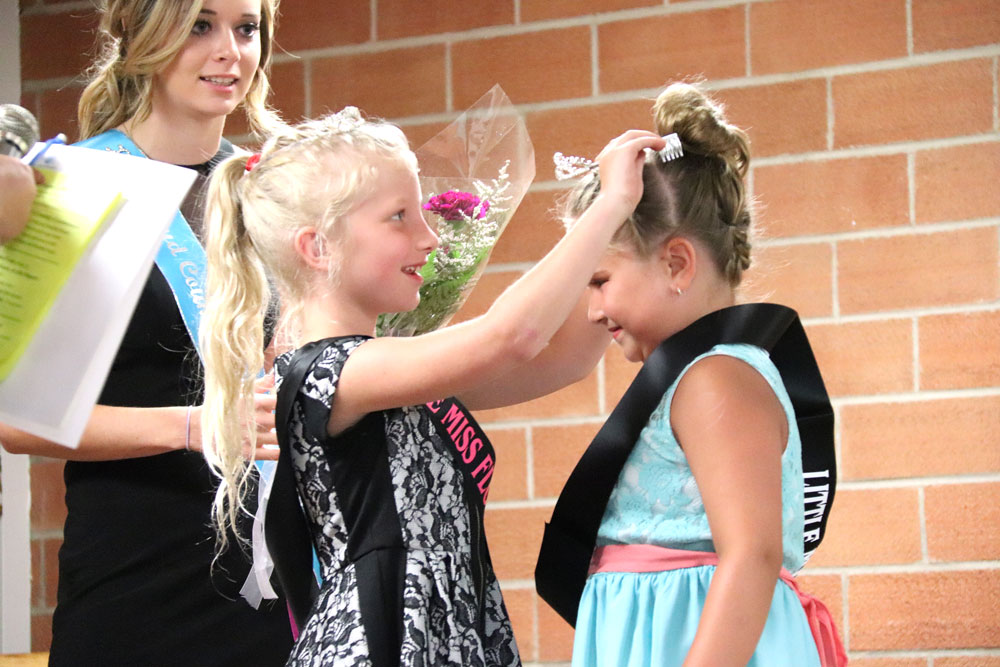 Royalty portion of fair crowns winners