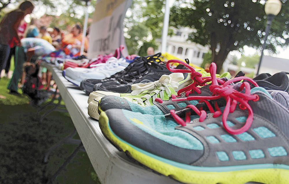 Project matches local school kids with shoes
