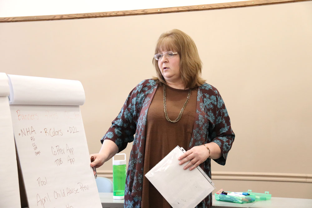 Local substance abuse prevention group discusses tobacco use