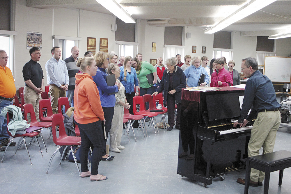 Charles City Singers to present some musical 'Americana' April 28