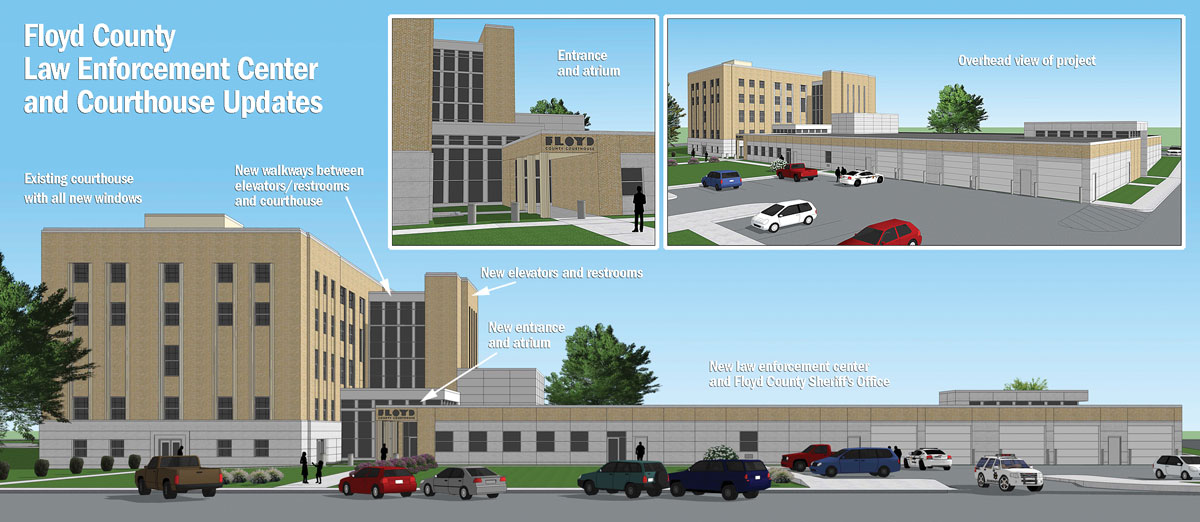 Law enforcement center project timeline delayed, but taking shape