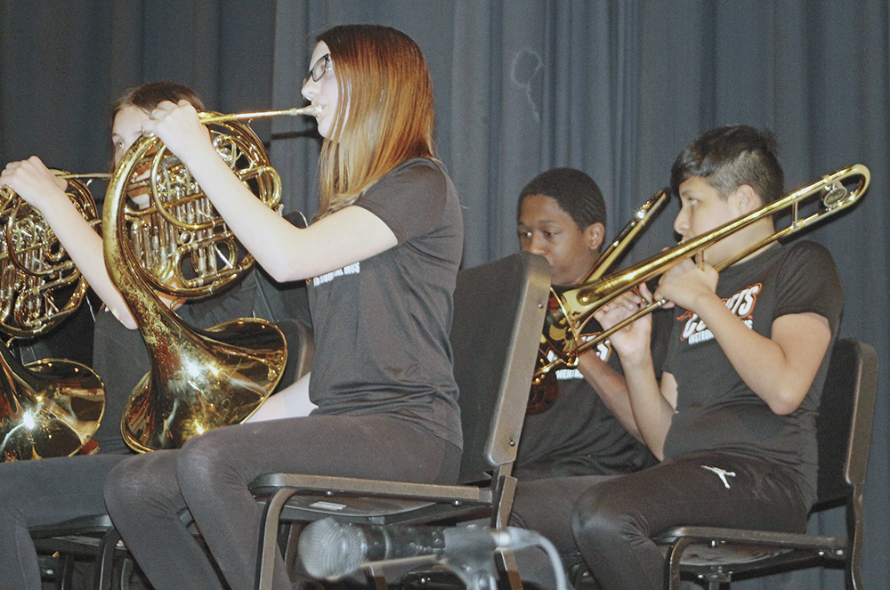 CCMS bands, orchestras perform spring concert