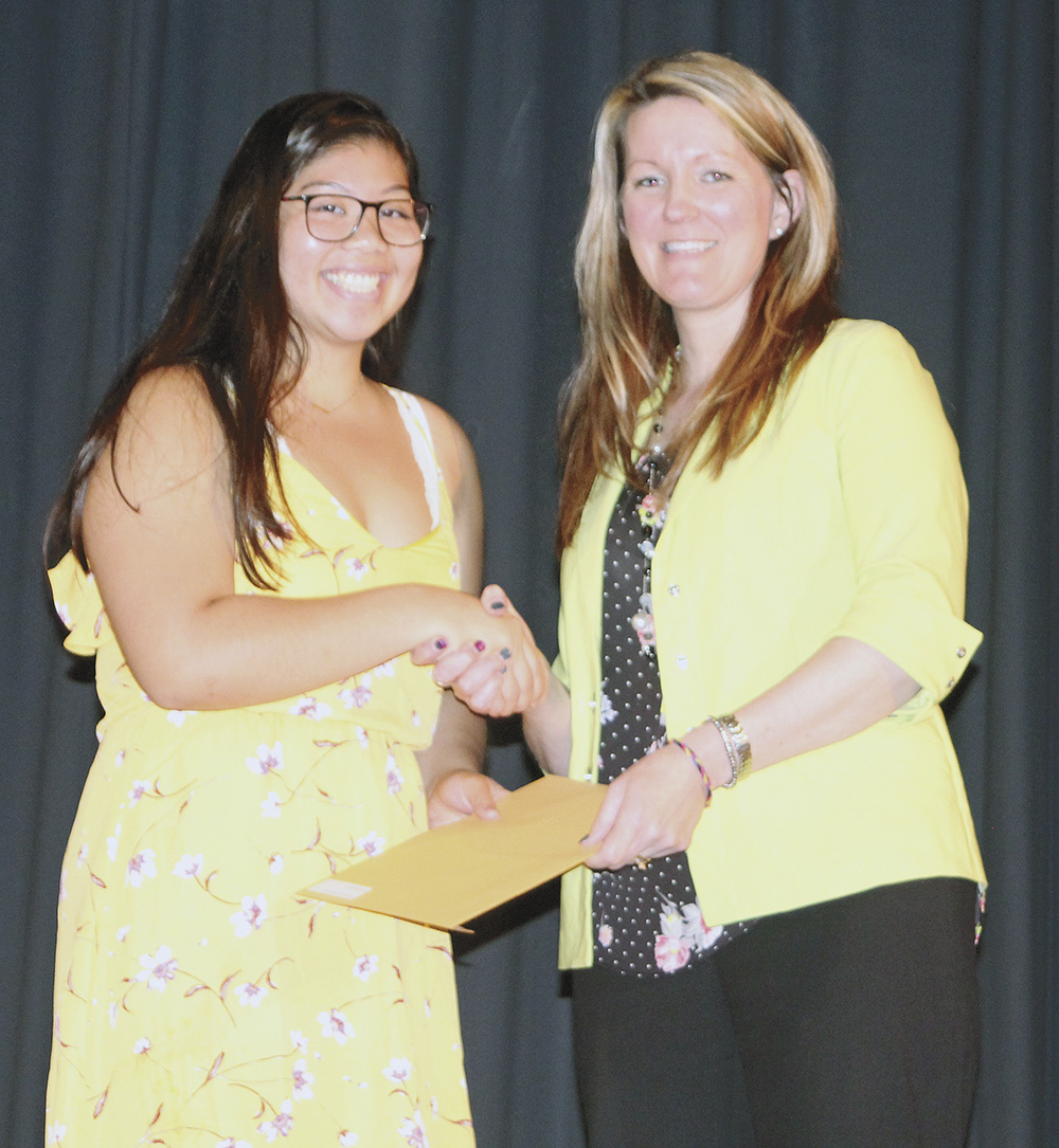 Class of 2019 awarded scholarships at CCHS Senior Recognition Night