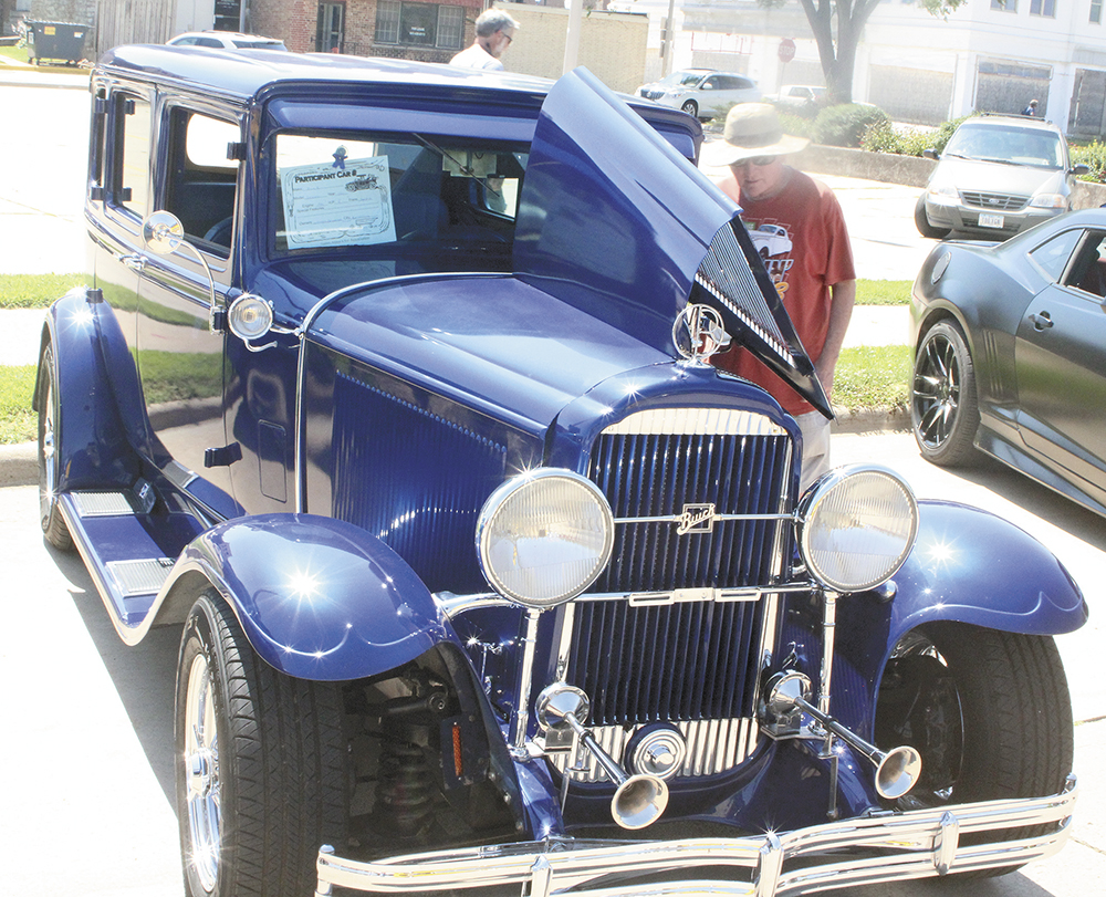 Classic cars line the streets for the 38th and final C A R
