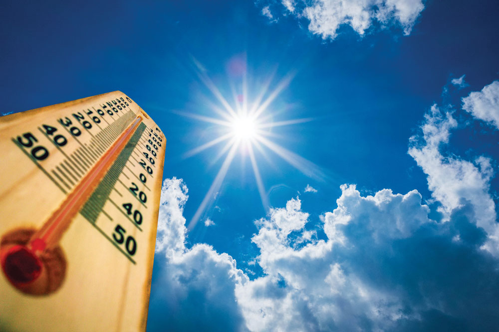 Taking proper steps in dealing with the heat can save lives