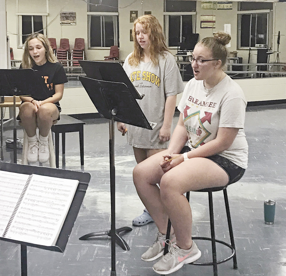 Cast set for CCHS production of 'Dreamcoat'