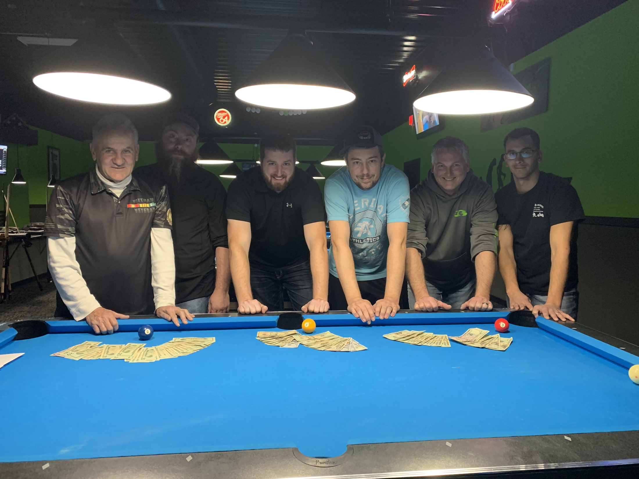 Bad weather doesn't keep all top players from Stewart Thanksgiving Pool Tournament