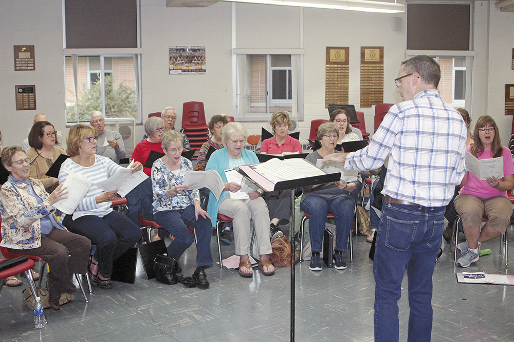 Charles City Singers to begin rehearsals Monday