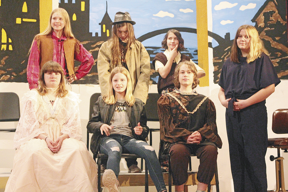 CCMS play includes fairy tales told in talk show format