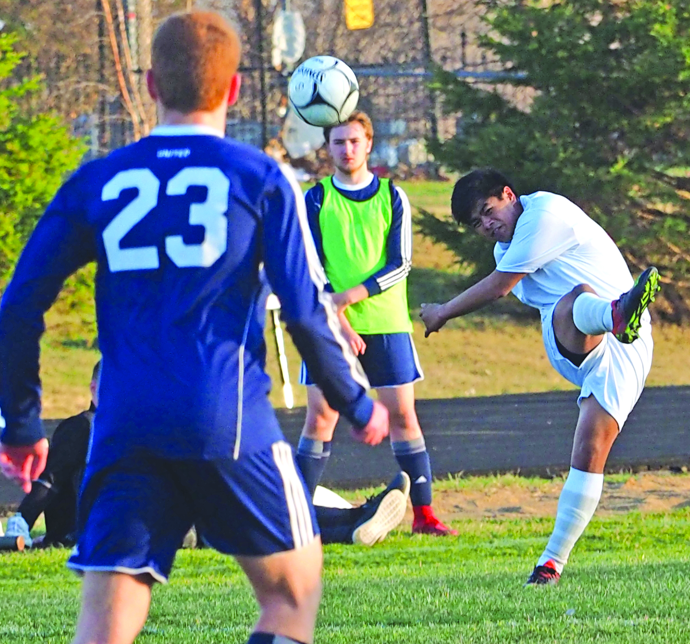 Comet soccer coach still hopeful for continued progress this spring