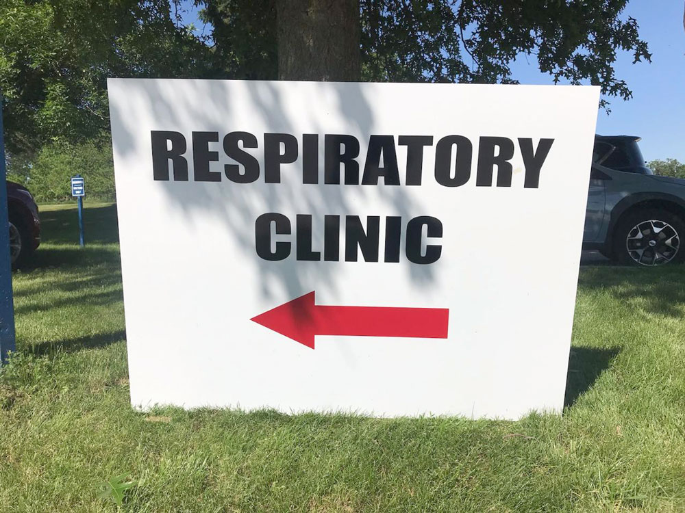 Return to some normalcy at Floyd County Medical Center Clinic