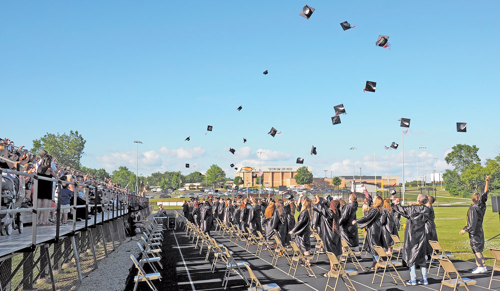 Charles City Class of 2020 gets COVID-delayed graduation ceremony