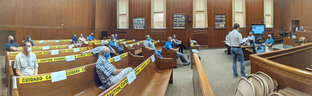 Split Floyd County Board of Supervisors again recommends against Lancer Ave. swine project