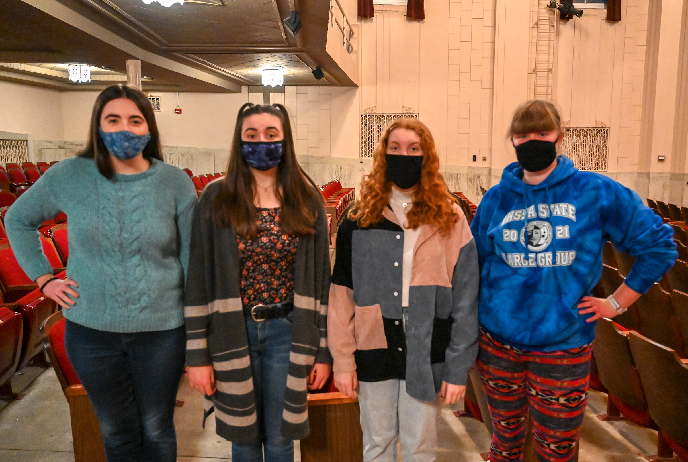 CCHS speech group uses old school material to earn All-State honors