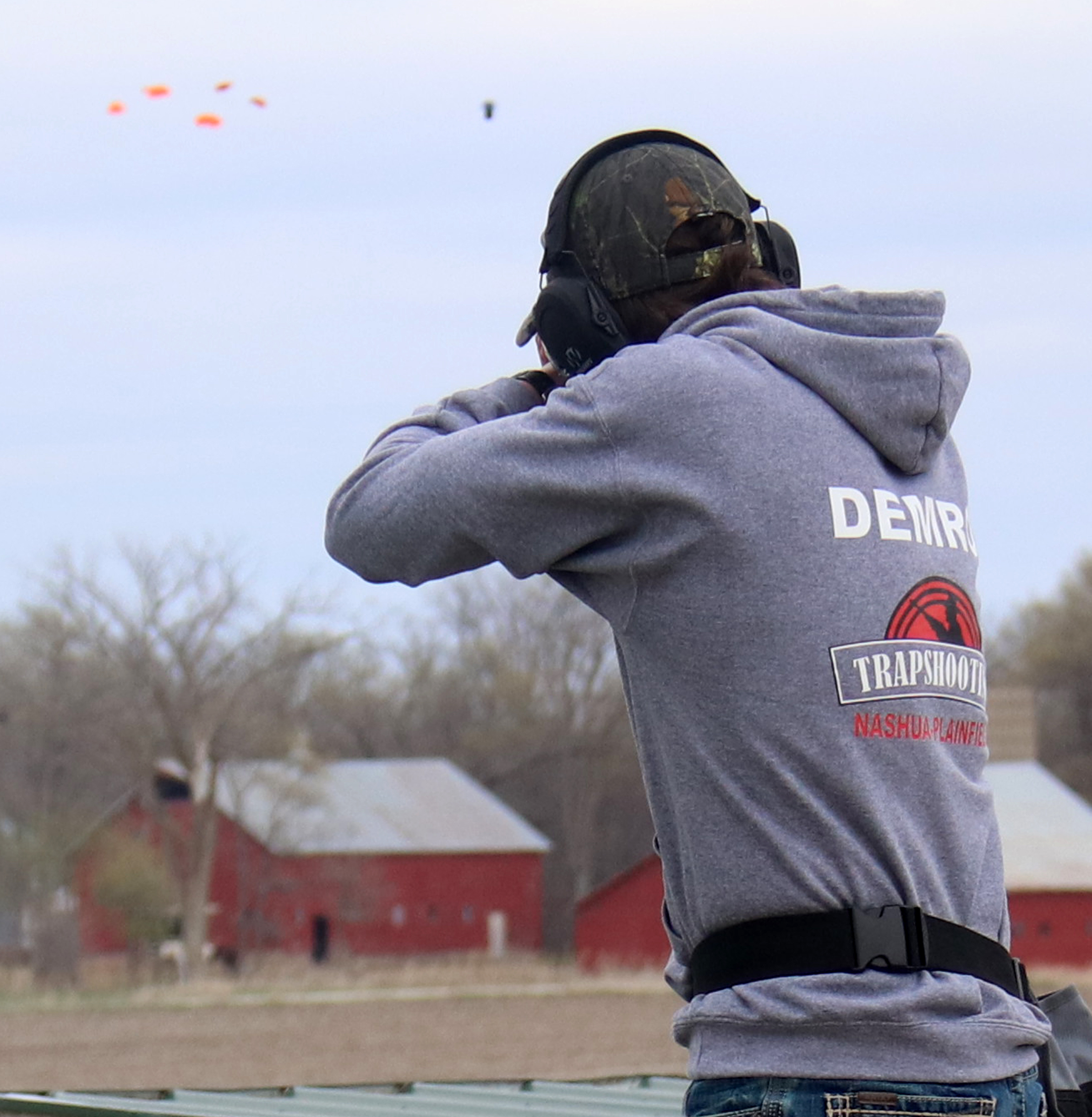 Blustery conditions add challenge to CC/NP vs. TV trapshooting meet