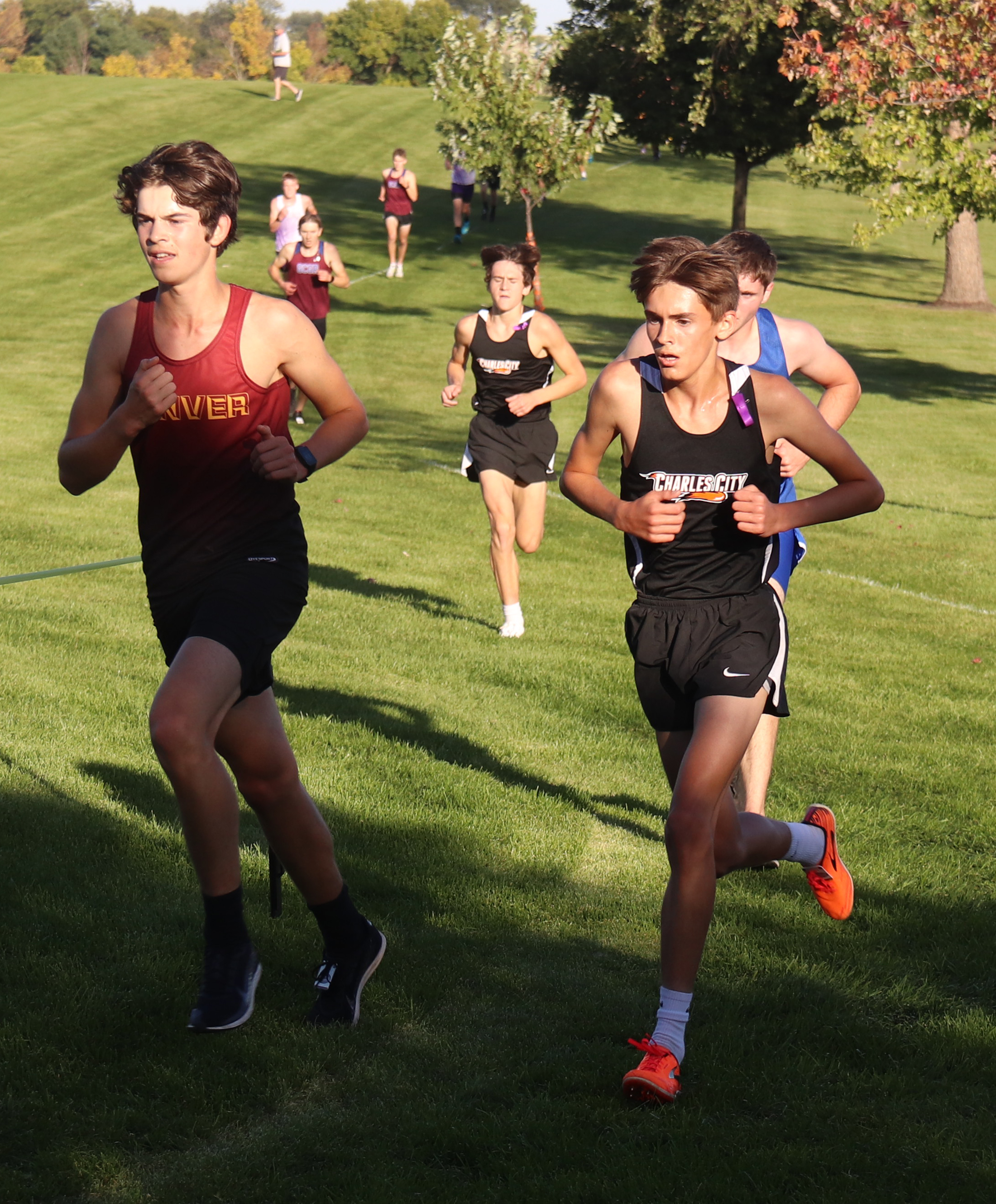 Charles City boys pace field at Sam Iverson XC Invitational for 2nd-straight win
